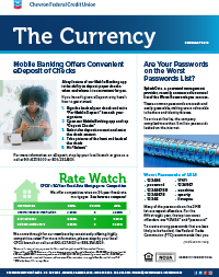 The Currency CFCU February 2019