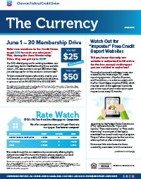 The Currency CFCU June 2019
