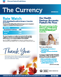 The Currency November 2019 CFCU Cover